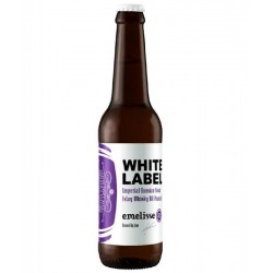 biere - EMELISSE WHITE IMPERIAL STOUT ISLAY WHISKEY BA PEATED 0.33L 13.5° - Planète Drinks