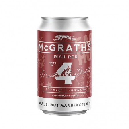 MCGRATH'S CRAFT IRISH RED 33CL CAN