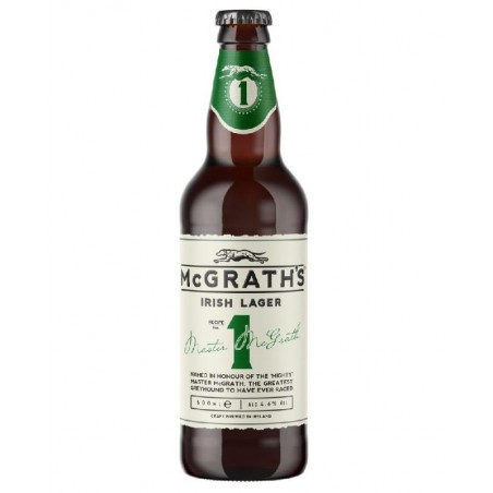 MCGRATH'S CRAFT IRISH LAGER 50CL