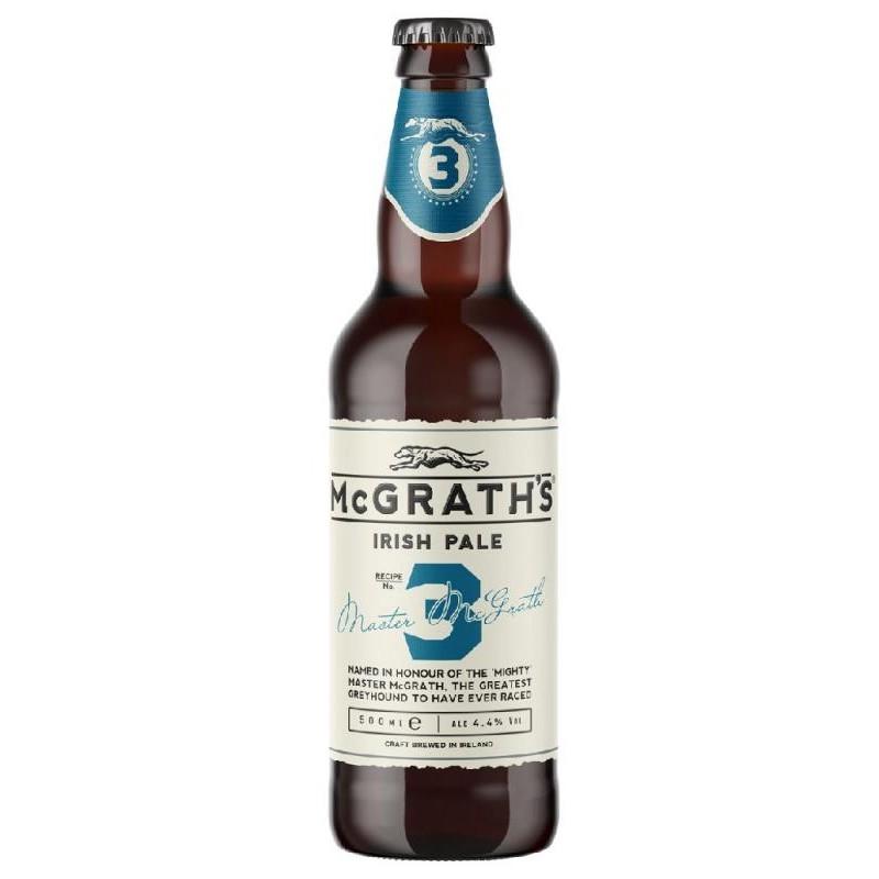 biere - MCGRATH'S CRAFT IRISH PALE 50CL - Planète Drinks