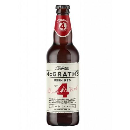 biere - MCGRATH'S CRAFT IRISH RED 50CL - Planète Drinks
