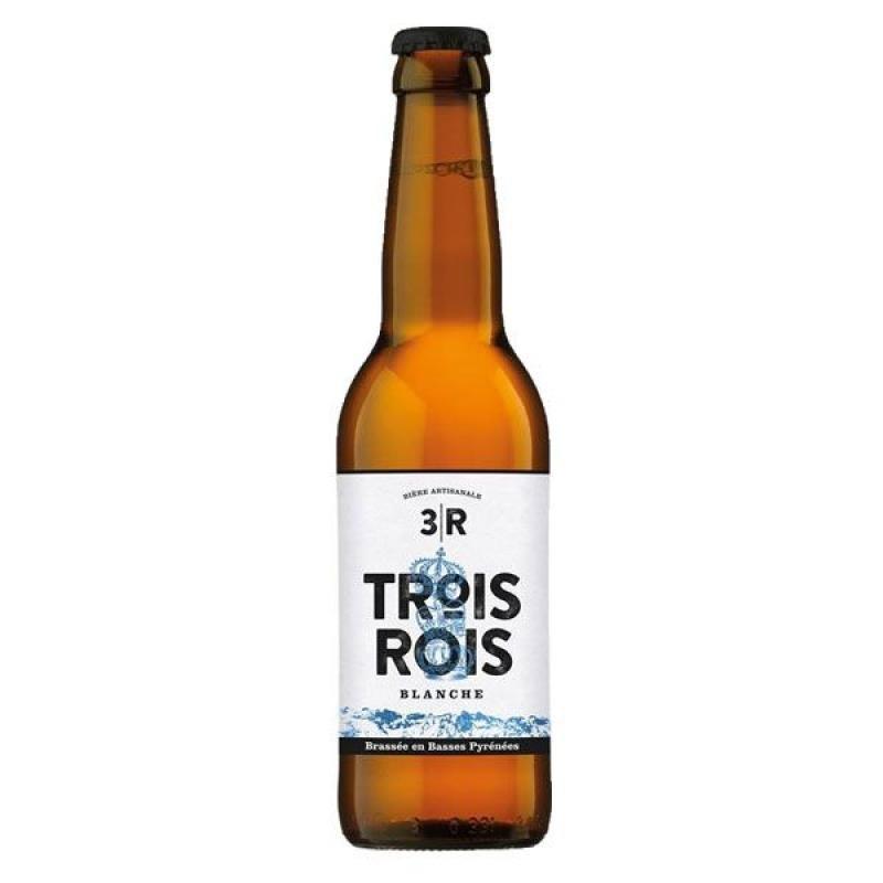 biere - 3 ROIS BLANCHE 0.33L - Planète Drinks