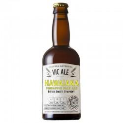 biere - VIC ALE HAWAIANA PINEAPPLE PALE ALE 0.33L - Planète Drinks