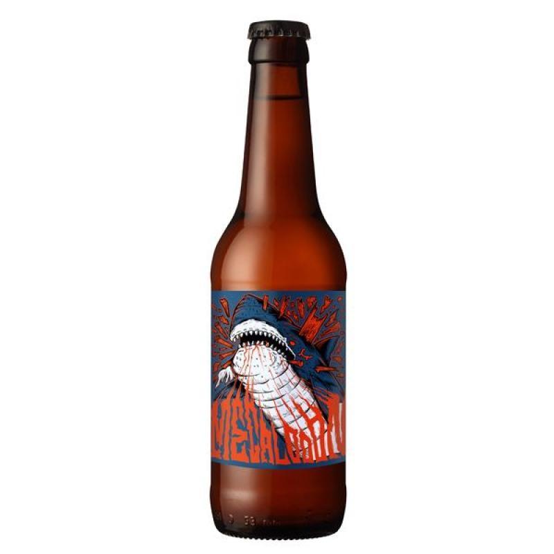 biere - FRENCH CORSAIR MEGALODON 0.33L - Planète Drinks