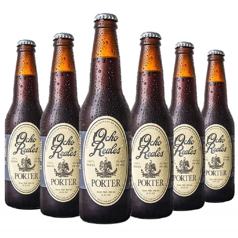 - OCHO REALES PORTER 6*0.355L - Planète Drinks