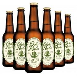 - OCHO REALES LAGER CLARA 6*0.355L - Planète Drinks