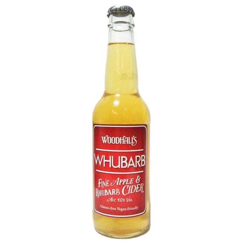 cidre - WOODHALLS WHUBARB CIDER 33CL - Planète Drinks