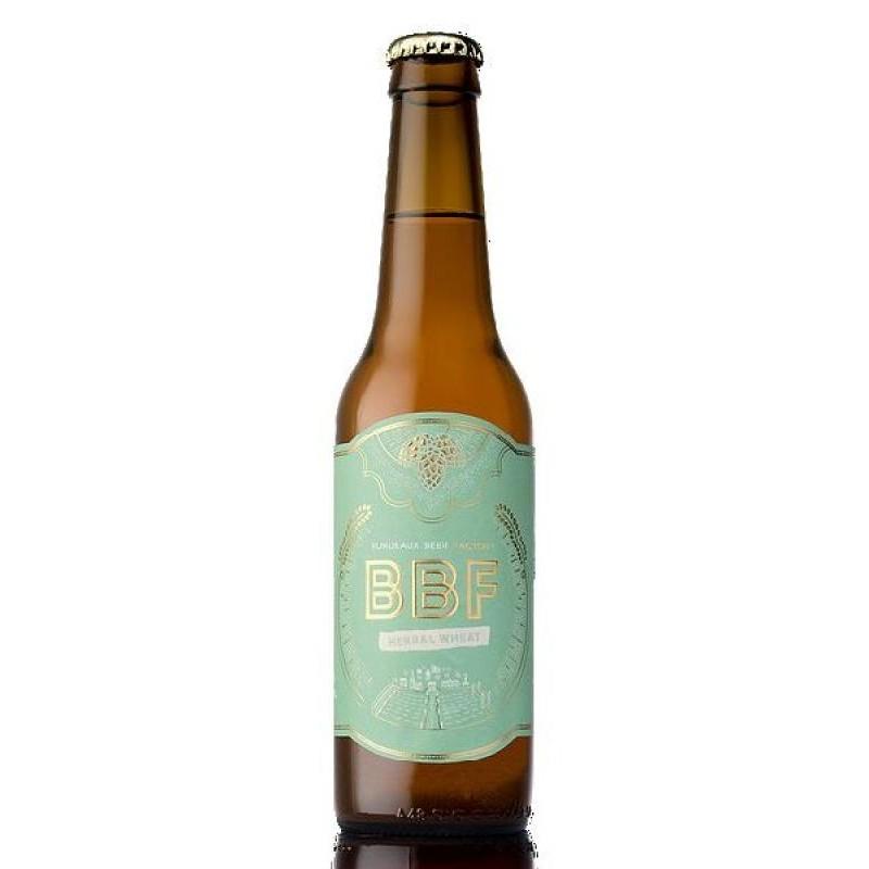 biere - BORDEAUX BEER FACTORY HERBAL WHEAT 0.33L - Planète Drinks