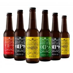 COFFRET BIERE - BOX EMELISSE DISCOVERY IPA 6*0.33L - Planète Drinks