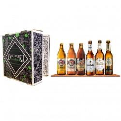 COFFRET BIERE - COFFRET DECOUVERTE BIERES ALLEMANDES DISCOVERY BEER BOOK 6*33CL - Planète Drinks