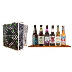 COFFRET BIERE - BOX DISCOVERY BEER BOOK 6 BIERES DE TYPE IPA 6*0.33L - Planète Drinks