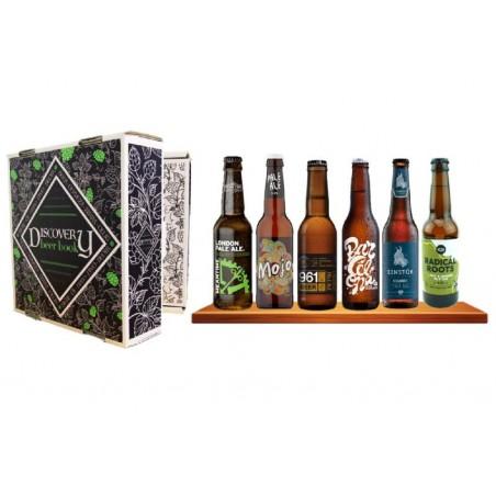 COFFRET BIERE - BOX DISCOVERY BEER BOOK 6 BIERES DE TYPE PALE ALE 6*0.33L - Planète Drinks