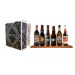 COFFRET BIERE - BOX DISCOVERY BEER BOOK 6 BIERE DE TYPE STOUT / PORTER 6*0.33L - Planète Drinks