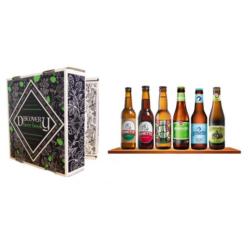 COFFRET BIERE - DISCOVERY BEER BOOK BIO 6*0.33L - Planète Drinks