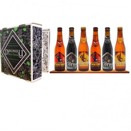 COFFRET BIERE - DISCOVERY BEER BOOK CORNE DU BOIS DES PENDUS 6*0.33L - Planète Drinks
