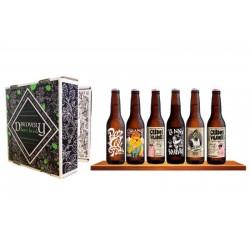 COFFRET BIERE - DISCOVERY BEER BOOK HOLA BARCELONA 6*0.33L - Planète Drinks