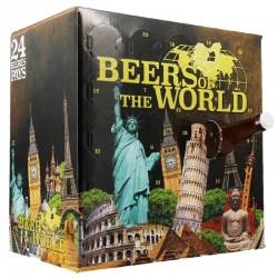 COFFRET BIERE - BOX BIÈRES INTERNATIONALES - 24 BIÈRES, 24 PAYS - Planète Drinks