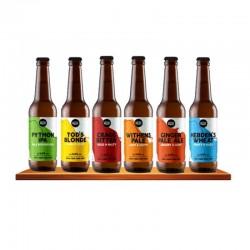 COFFRET BIERE - BOX 6 BIERES BIO - Planète Drinks