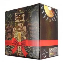 COFFRET BIERE - BOX IDÉE CADEAU - 24 BIÈRES ARTISANALES + 1 VERRE - Planète Drinks