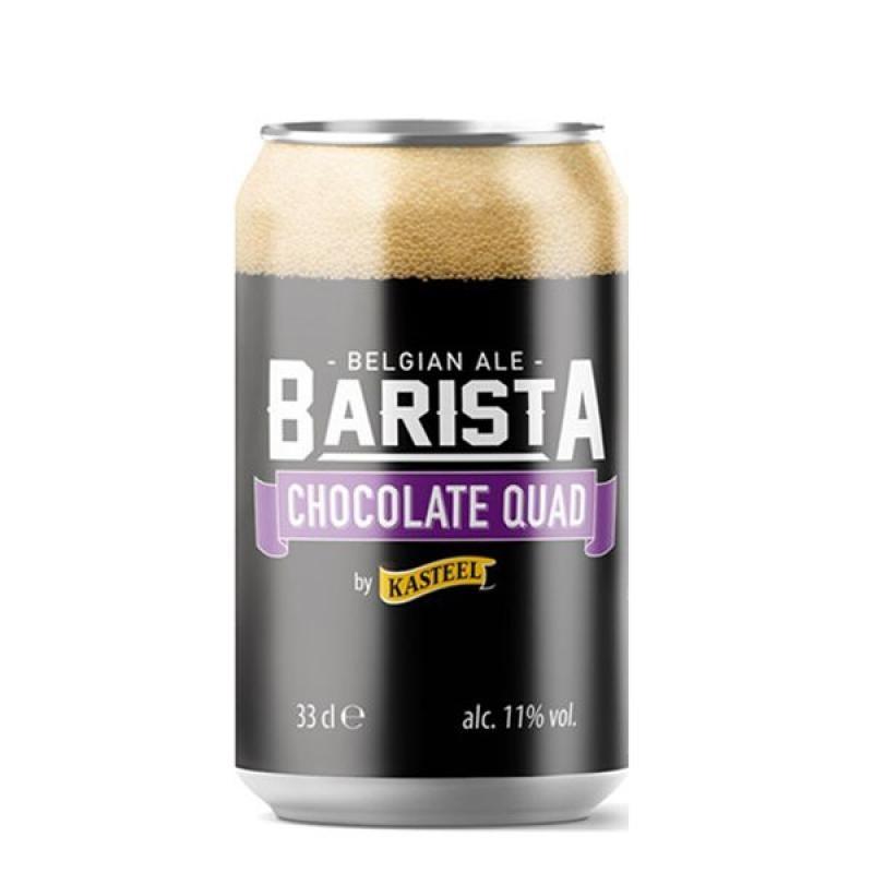 biere - KASTEEL BARISTA CHOCOLATE QUAD 0.33L CAN - Planète Drinks
