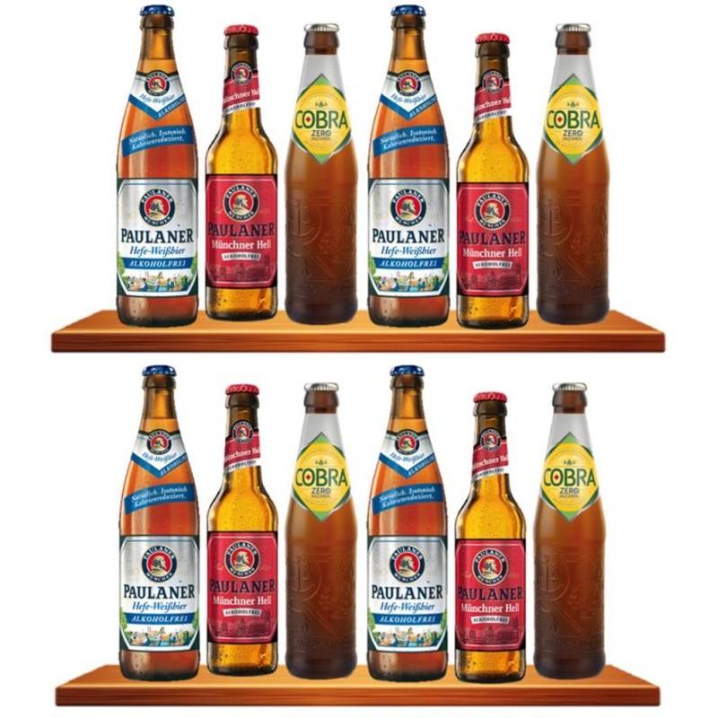 COFFRET BIERE - BOX X12 BIERES SANS ALCOOL - Planète Drinks