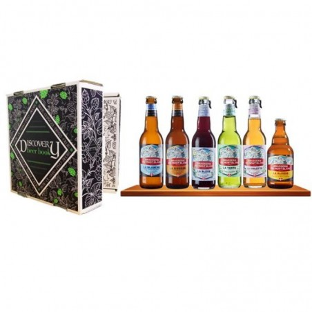 DISCOVERY BEER BOOK MONT BLANC X6 BIERES