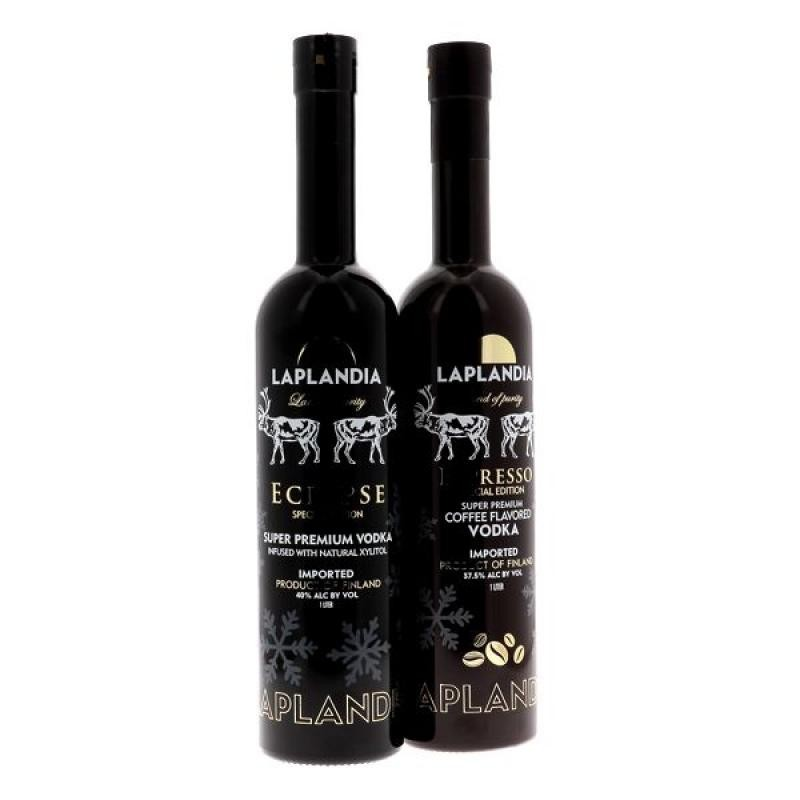 COFFRET ALCOOL - BOX DECOUVERTE LAPLANDIA VODKA 2*1L - Planète Drinks