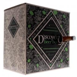 COFFRET BIERE - CALENDRIER DISCOVERY BEER BOX TRENDY 24 BIERES + 1 VERRE - Planète Drinks