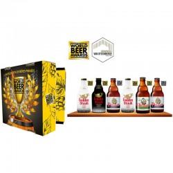 COFFRET BIERE - COFFRET BRASSERIE VAN STEENBERGE 6 BIERES PRIMEES WORLD BEER AWARDS - Planète Drinks