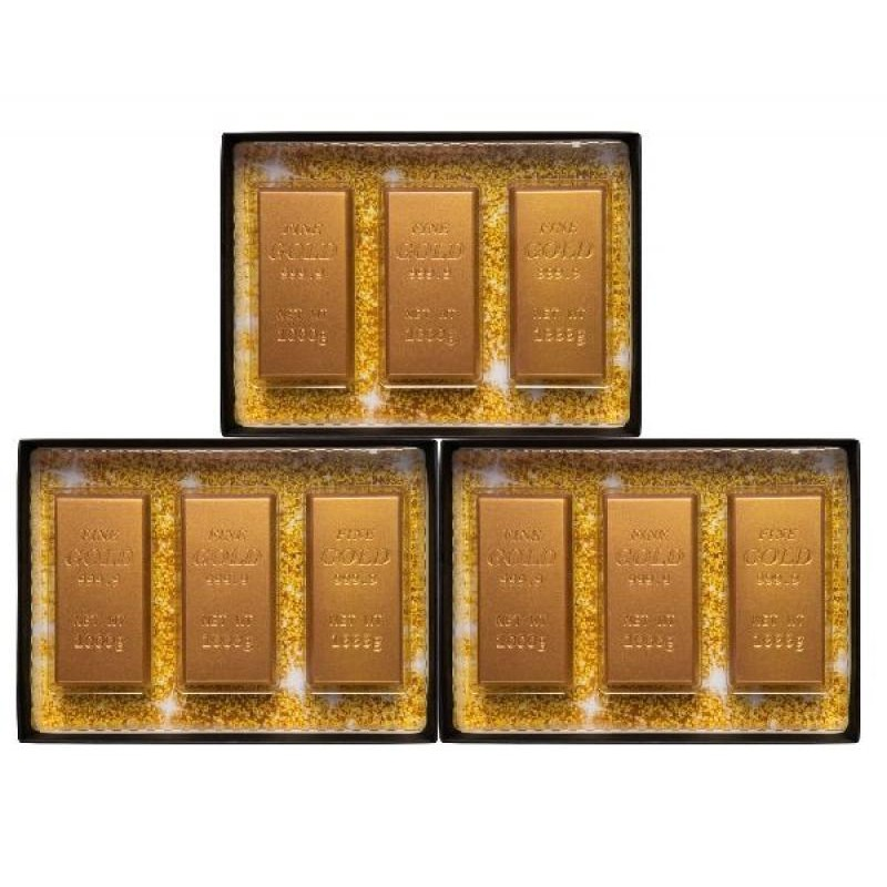 COFFRET CHOCOLATS - BOX CHOCOLAT 3 LINGOTS - Planète Drinks