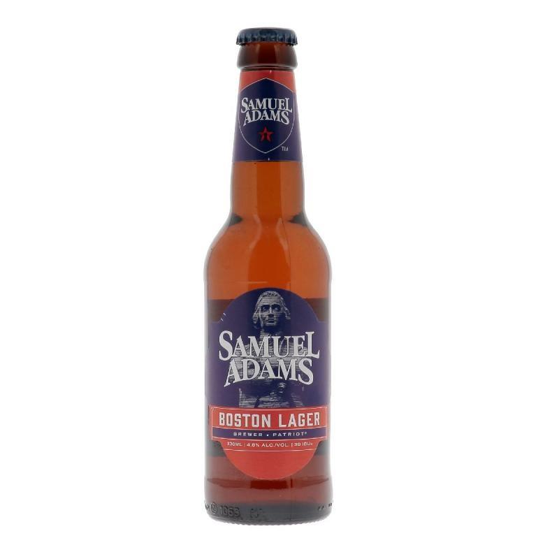 biere - SAMUEL ADAMS BOSTON LAGER 0,33L - Planète Drinks