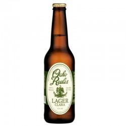biere - OCHO REALES LAGER CLARA 0.355L - Planète Drinks