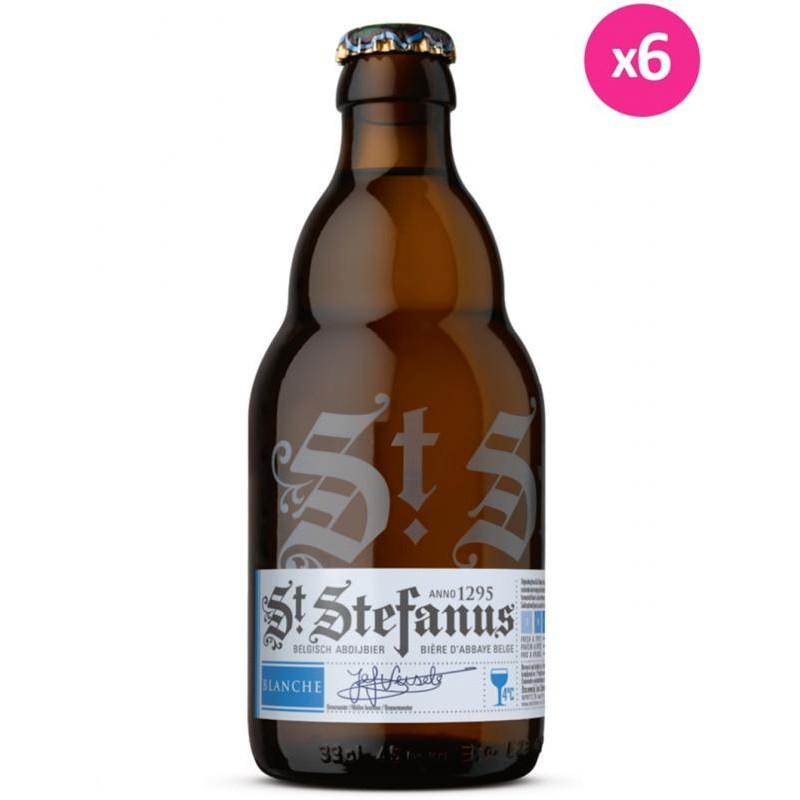 - ST STEFANUS BLANCHE 6*33CL - Planète Drinks