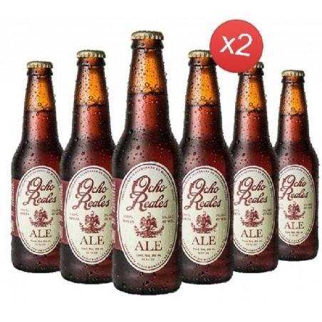 - OCHO REALES ALE 12*0.355L - Planète Drinks