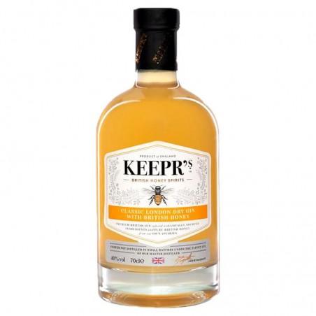 GIN - KEEPR'S CLASSIC LONDON DRY HONEY GIN 70CL - Planète Drinks
