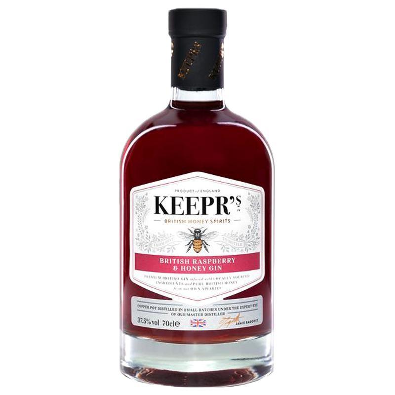 GIN - KEEPR'S RASPBERRY & HONEY GIN 70CL - Planète Drinks