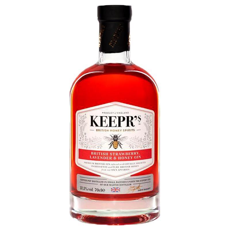 GIN - KEEPR'S STRAWBERRY LAVENDER & HONEY GIN 70CL - Planète Drinks