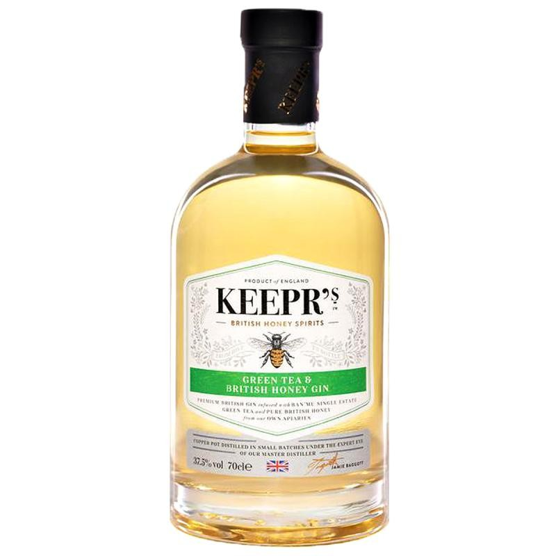 GIN - KEEPR'S GREEN TEA & HONEY GIN 70CL - Planète Drinks