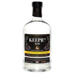 GIN - KEEPR'S LEMON & PEPPER LONDON DRY GIN 70CL - Planète Drinks