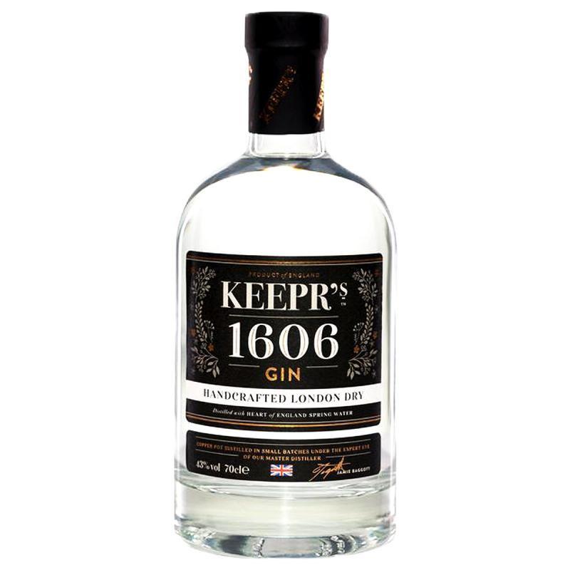 GIN - KEEPR'S 1606 PREMIUM LONDON DRY GIN 70CL - Planète Drinks