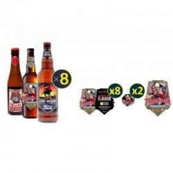 COFFRET BIERE - BOX FAN IRON MAIDEN TROOPER 24 BIERES + GOODIES - Planète Drinks