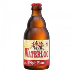 biere - WATERLOO TRIPLE BLONDE 33CL - Planète Drinks