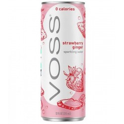 VOSS FRAISE GINGEMBRE CAN 33CL