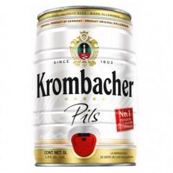 biere - KROMBACHER PILS FUT 5L - Planète Drinks