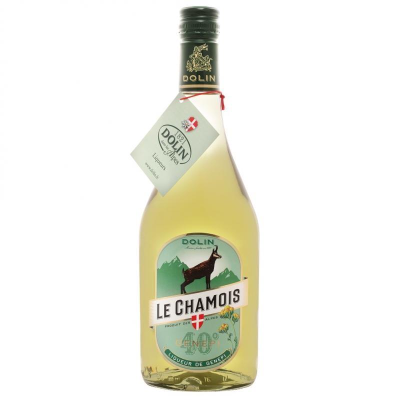 LIQUEUR - DOLIN LIQUEUR DE GENEPI LE CHAMOIS 70CL - Planète Drinks
