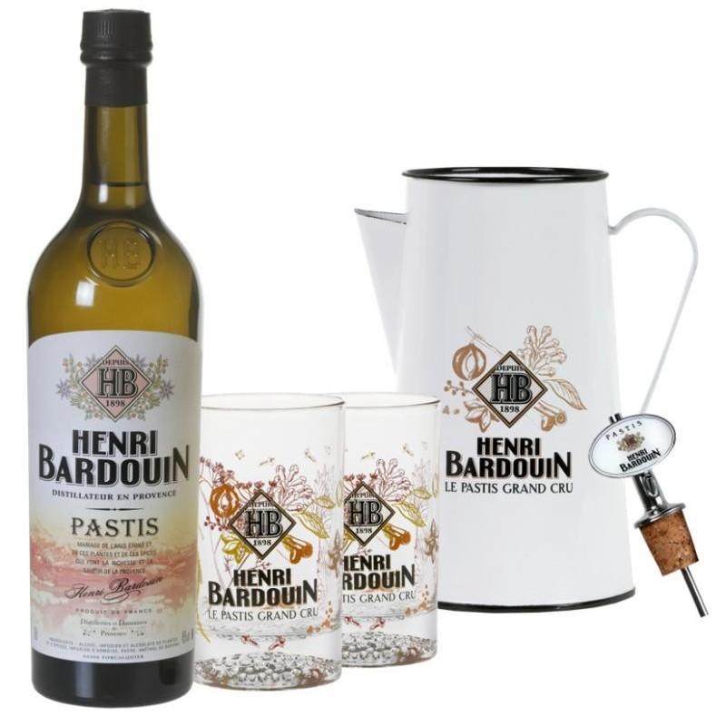 COFFRET ALCOOL - BOX DECOUVERTE HENRI BARDOUIN 1*70CL + ACCESSOIRES - Planète Drinks
