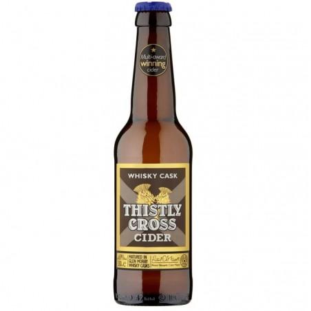 cidre - THISTLY CROSS CIDER WHISKY CASK 33CL - Planète Drinks