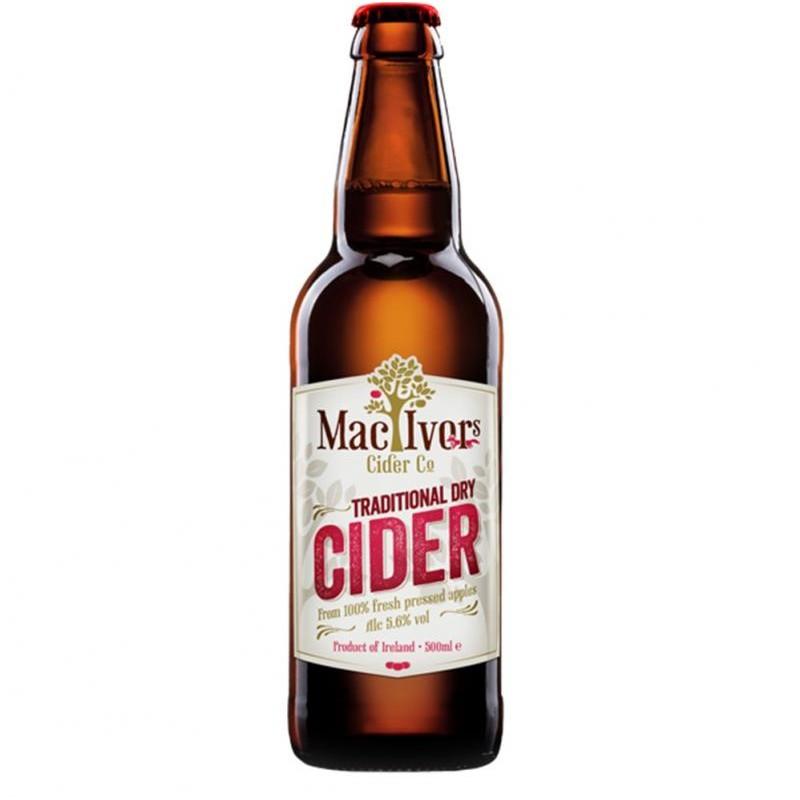 cidre - MAC IVORS DRY CIDER 50CL - Planète Drinks