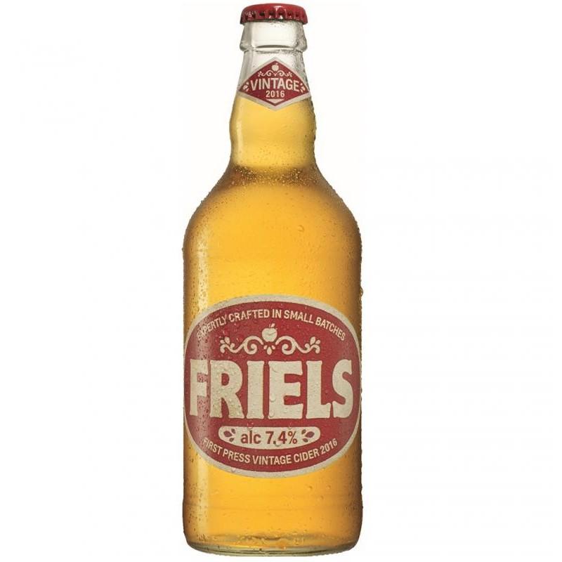 cidre - FRIELS VINTAGE CIDER 50CL - Planète Drinks