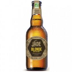 biere - JADE BLONDE BIO 0.33L VP - CERTIFIE FR-BIO-01 - Planète Drinks